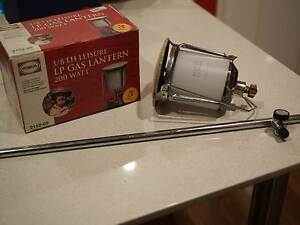 Gas Lantern and telescopic pole Valley View Salisbury Area Preview