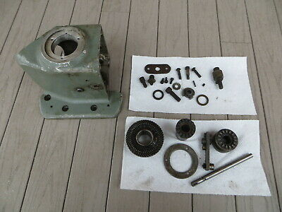 Bridgeport Mill Power Feed 6f 1412 Main Housing 038-0290 Plus Drive Gears Parts