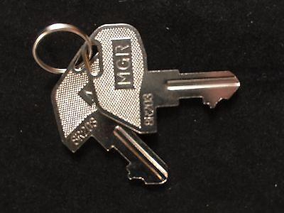 Tec Cash Register Mgr Key 8r203 Set Of 2