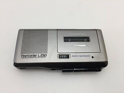 Vintage Olympus Pearlcorder L250 Voice Activated Micro-cassette Recorder