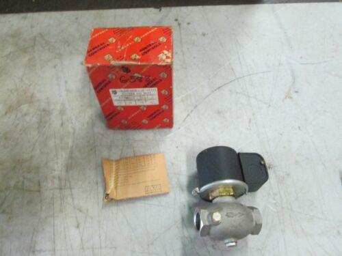 "General Controls S/S Solenoid Gas Valve Cat# K3AB252 3/4"" FNPT 460V 60 Hz (NIB)"