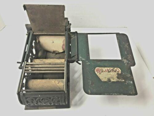 Antique Uarco Cast Iron Cash Register Receipt Machine Gas Station General Store