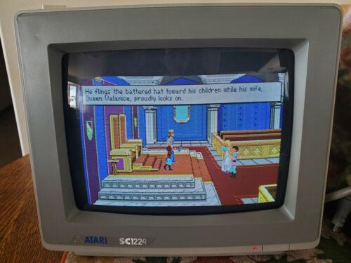 Atari SC1224 Color Monitor
