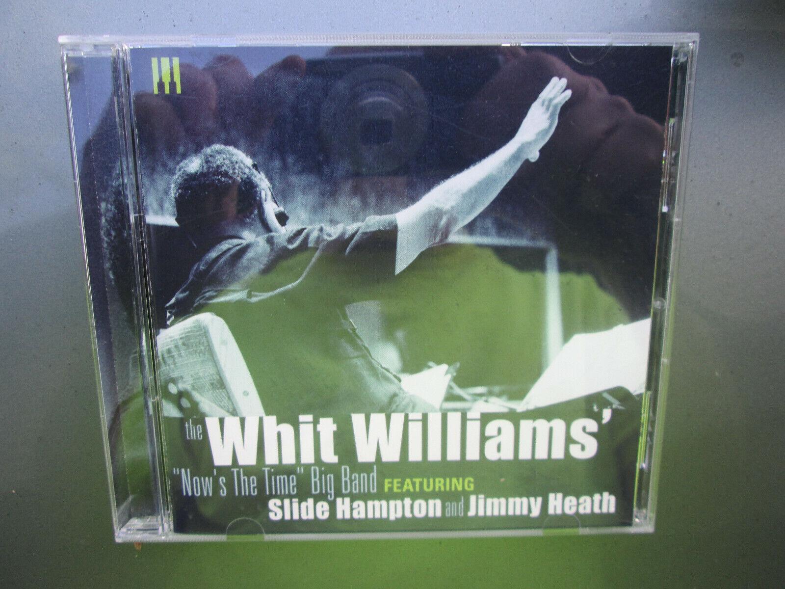 WHIT WILLIAMS - Jazz Sax - RARE CD Album NICE USED COPY RARE CD Album - $19.99