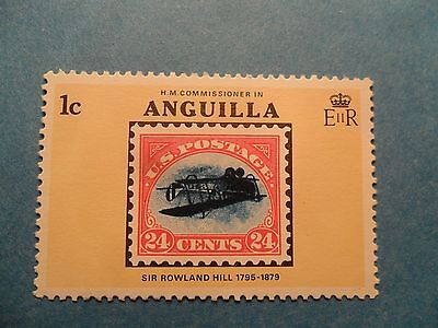 Anguilla. QE2. 1979 Death Centenary of Sir Rowland Hill. SG359. P14. MNH.