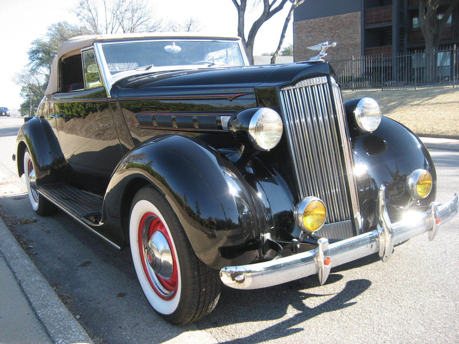 1937 Packard Model 115-C  1937 Packard 115c Convertible Coupe Rumbleseat - great fun car !