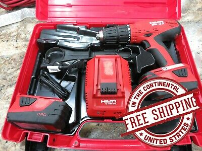 Hilti Sfh 18-a Cordless Hammer Drill Preowned Good Condition Free Shipping