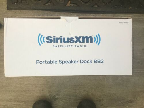 SIRIUSXM BB2 PORTABLE SPEAKER DOCK SXABB2 BRAND NEW IN BOX FREE SHIPPING!!!!!!!!