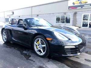 2014 Porsche Boxster Cabriolet Roadster 6 speed Low Kms