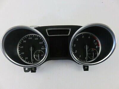 Tachometer Instrument Cluster Kraftstoff mph 12-15 Mercedes Benz ML350 MD02731
