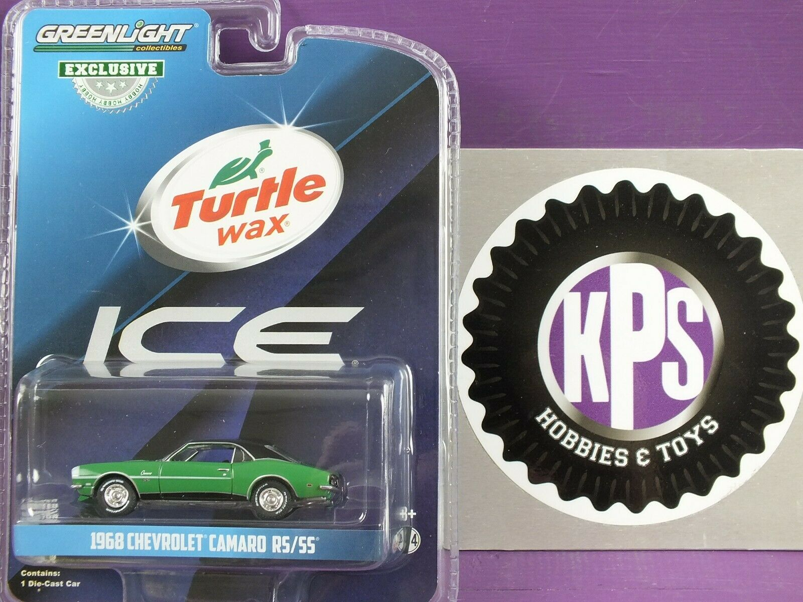 Turtle Wax - 1968 Chevrolet Camaro RS/SS - Turtle Wax Ice, G
