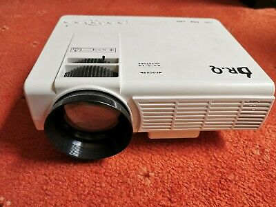DR.Q HI-04 1800 1080P HD Lumen Home Theater Projector - White