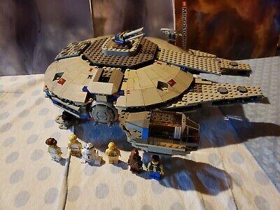 Complete LEGO Classic Star Wars Millennium Falcon 7190 RARE retired