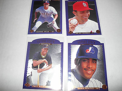 1996 Upper Deck Future Stock Prospects Lot Of 13 Cards   No Dups
