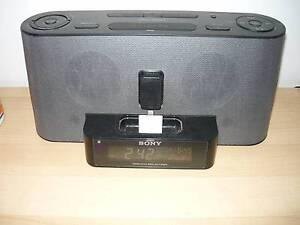 Sony Speaker Dock  Clock Radio for iPOD & Iphone Lockridge Swan Area Preview
