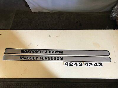 Massey Ferguson 4243 Hood Decals
