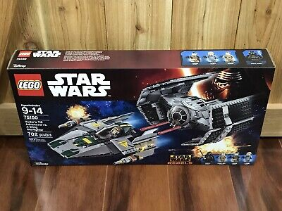 LEGO Star Wars Vader's TIE Advanced vs. A-Wing Starfighter 75150 Brand New