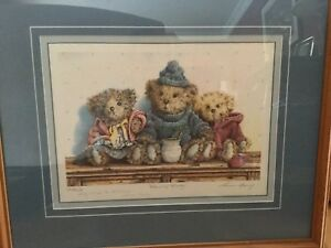 "Laura Berry ""Warm & Woolly"" framed print"