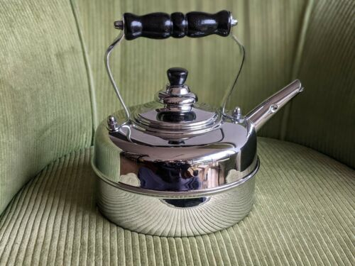 smaller Simplex Chrome Copper Rapid Boil Kettle Mini 1 QUART