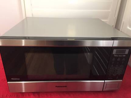 Panasonic 44l Inverter Microwave Stainless Steel
