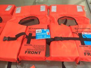 Life jackets adult x4
