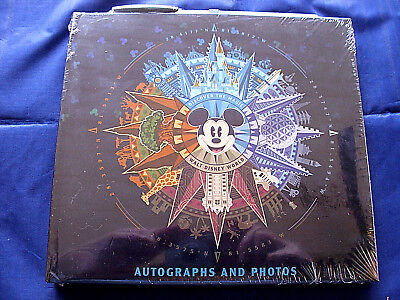 (Disney* MICKEY DISCOVER THE MAGIC * WDW Autograph Book & Photo Album New/Sealed )