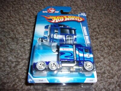 HOT WHEELS 2010 MAIL IN  THUNDER ROLLER  W/REAL RIDERS HARD TO FIND