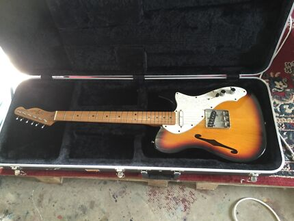 Thinline Telecaster made in Mexico
