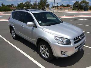 Rare Silver 2010 Toyota RAV4 SX6 V6 3.5L 4x4 Compact SUV Willetton Canning Area Preview