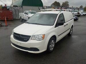 2013 Dodge Ram Caravan Cargo Van w/ Shelving & Ladder Rack