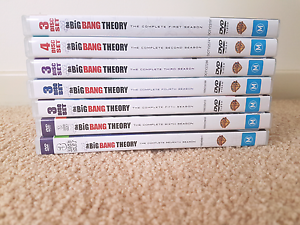 Big Bang Theory Seasons 1-7. Shellharbour Shellharbour Area Preview