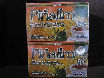 2 X Pinalim Tea De Pina Gn Vida  Pinalim Tea  Pi Alim Te   Exp 2024