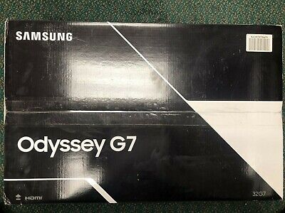 "Brand New Samsung Odyssey  32"" G7 QHD  1000R Curved QLED  Gaming Monitor Free SH"