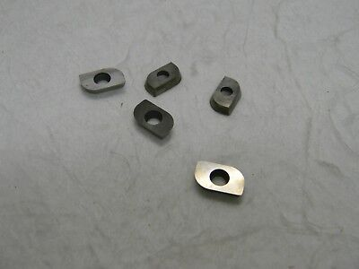 """Superbee  Carbide Milling Insert Uncoated 1/8"""" Thick QTY 10 EM15220FNT33"""