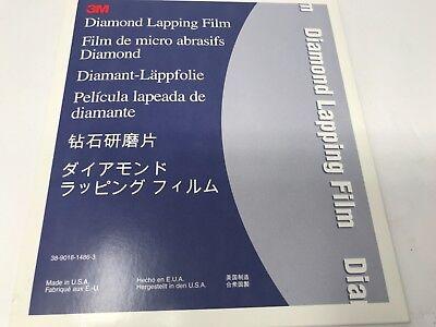 3m Diamond Lapping Film Roll 631x 3 X 6 25 Sheets 69904