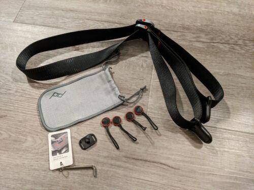 Peak Design Slide Lite V3 Sling Strap for Mirrorless Camera SLL-BK-3 (Black)