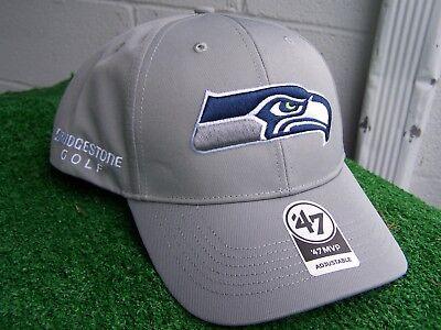 Bridgestone Golf Seattle Seahawks Grau Golfhut Kappe '47 NFL Team