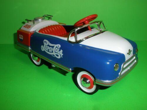 PEPSI COLA 1948 BMC TANKER PEDAL CAR DIECAST BRAND NEW IN BOX