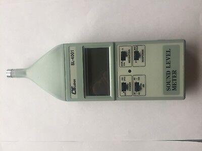 Lutron Sl-4001 Digital Sound Level Meter Free Ship