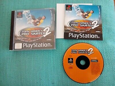 Tony Hawk's Pro Skater 2 PS1 PlayStation 1 Game Complete with Manual