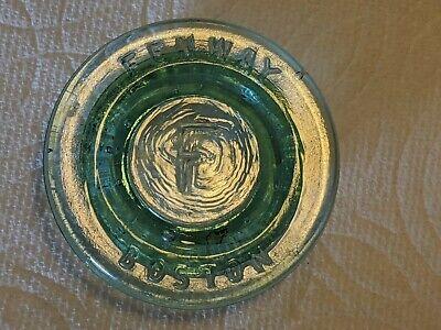 1915 Fenway Candy Company Boston Jar Lid Bottle Red Sox