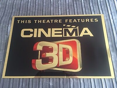 Cinema 3D  Sign
