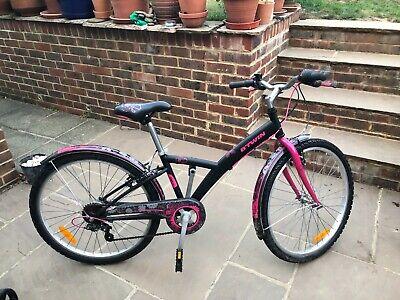 "Decathlon Girls 20"" Hybrid Bicycle 6-10 years"