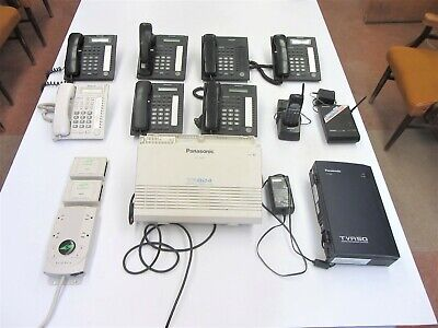 Panasonic Advanced Hybrid Phone System Kx-ta824 8ph W Voice Mail System Wsurge