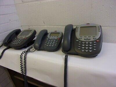 Lot Of 3 Avaya 5420 5410 Gray Ip Office Phone