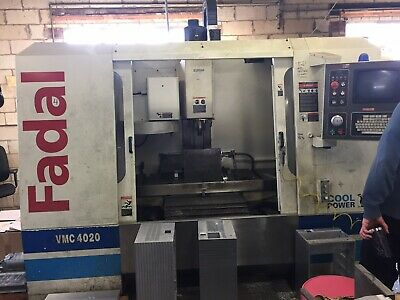 Fadal Vmc4020ht Vertical Machining Center 2000