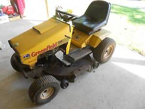 """GREENFIELD FASTCUT 34"""" DELUXE EVOLUTION RIDE ON MOWER 19.5hp Bangalow Byron Area Preview"""
