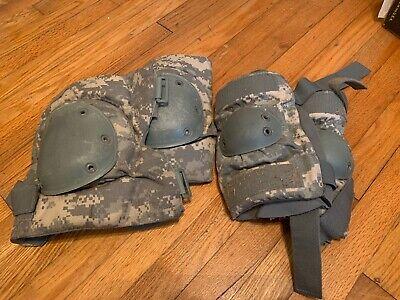 NEW military issue knee /& elbow pads 8 total 4 knee 4 elbow BDU EMT ACU Marpat