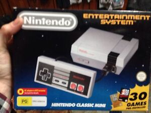 Nes Super Nintendo mini not available in stores Araluen Gympie Area Preview