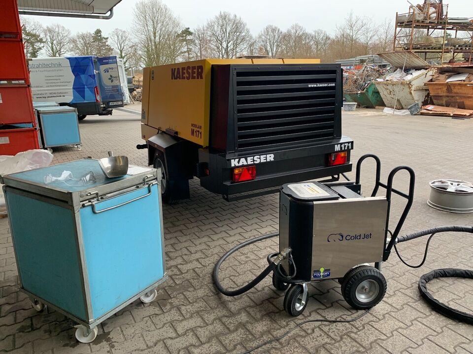 Vermietung - Trockeneisstrahlgerät AERO40 in Ostbevern